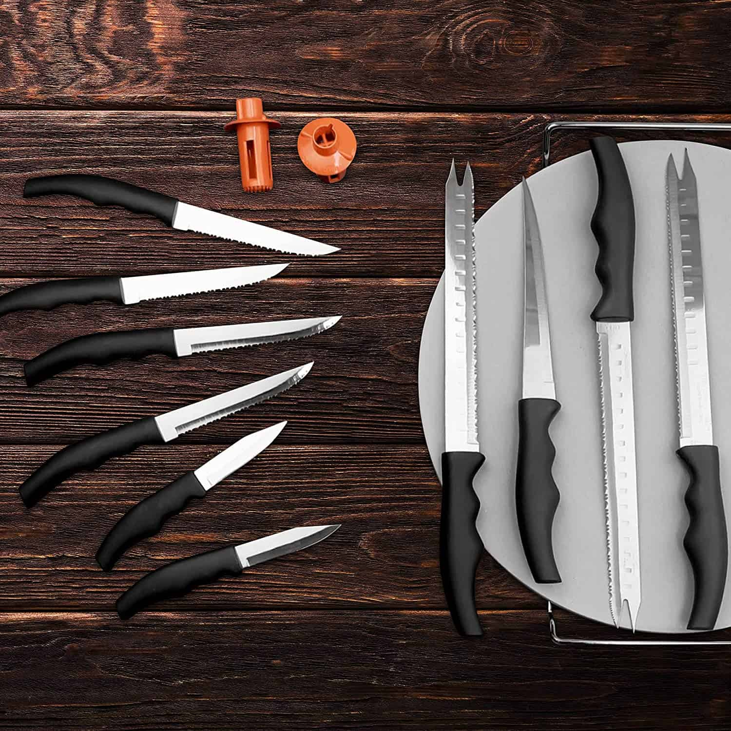 forefer sharp knife set