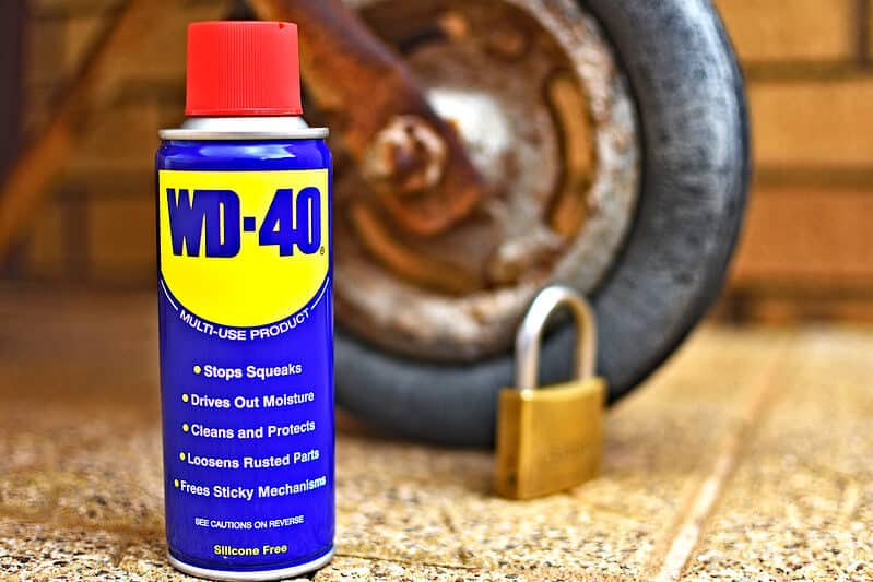 penetrating oil wd 40